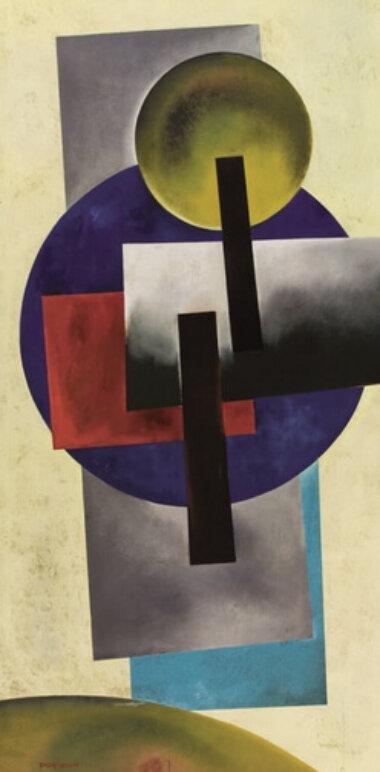 03_Palainco_Alexander_Rodchenko_Arteluce_Gino_Sarfatti_Avant_Garde_Abstract_Painting