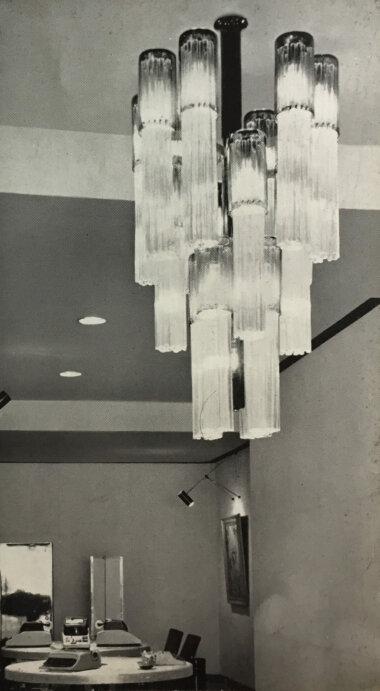 12_Palainco_Olivetti_Dusseldorf_Venini_Ignazio_Gardella_Pendant_Showroom_Catalogue_Palainco_Archive