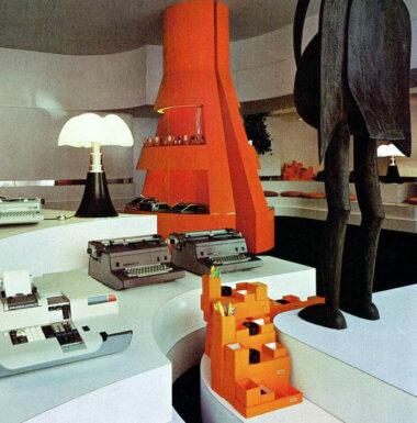 Palainco_Olivetti_showroom_Paris_Gae_Aulenti_Artemide_Domus-