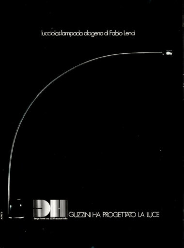 04_Palainco_Design_House_Guzzini_iGuzzini_Fabio_Lenci_Lucciola_Floor_lamp_1973_Advertisement_Palainco_Archive