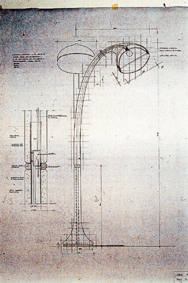 10_Design_House_Guzzini_iGuzzini_Fabio_Lenci_Lampione_Floor_lamp_Outdoor_Sketch_Palainco_Archive